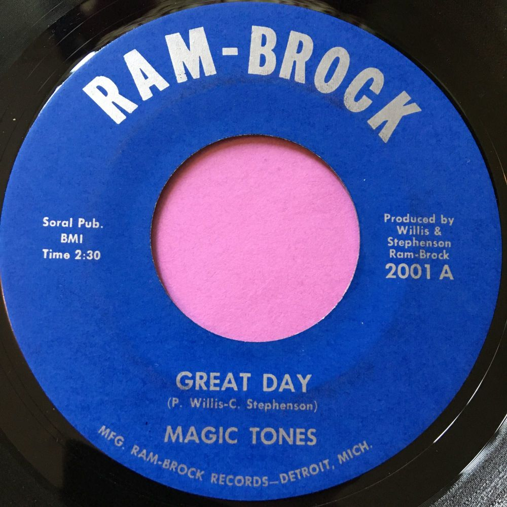 Magic Tones-Great day-Ram-Brock E+