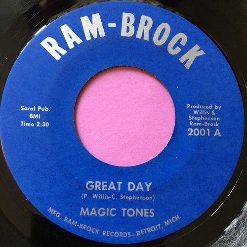 Magic Tones-Great day-Ram-Brock E+