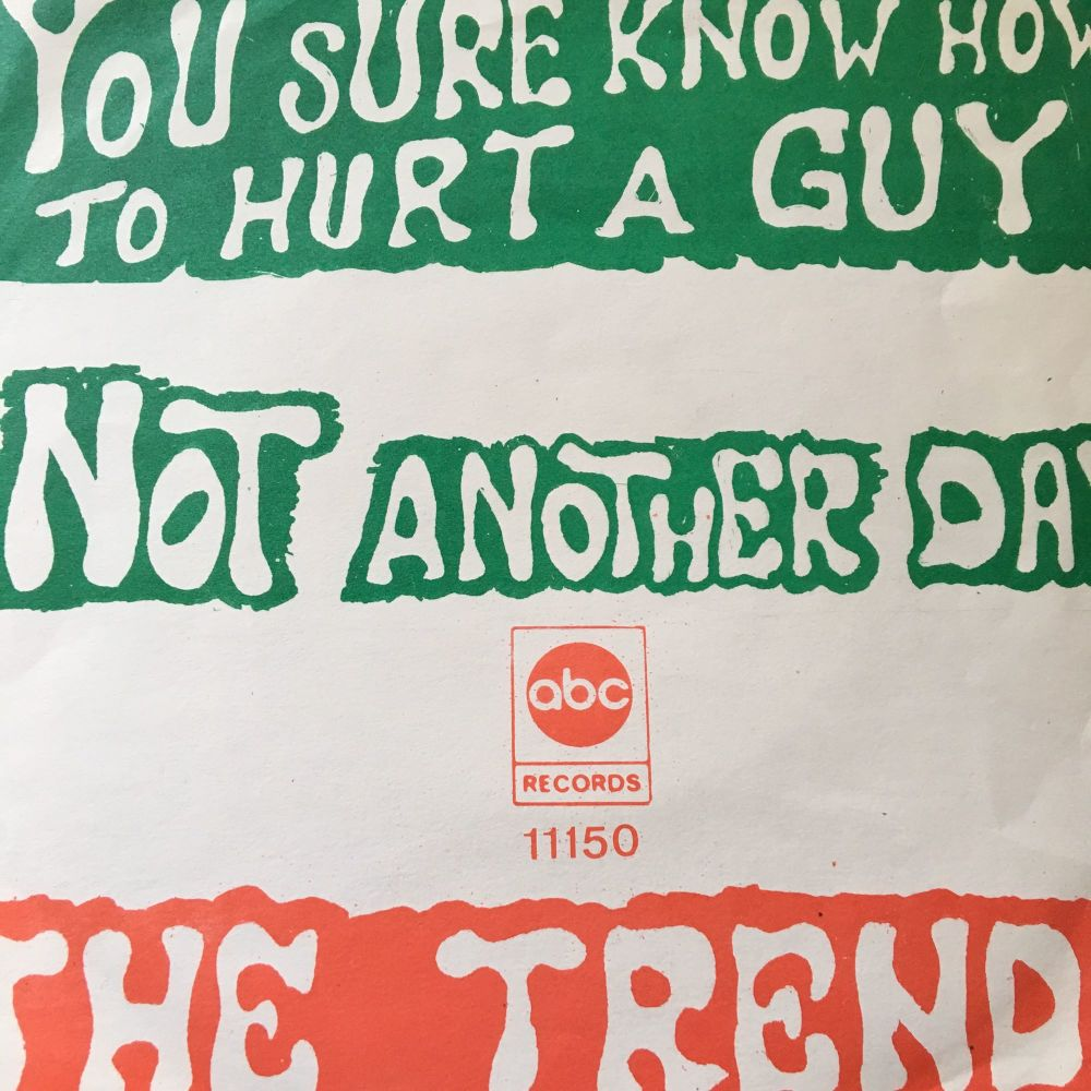 Trends-You sure know how to hurt a guy-German ABC Pic E+