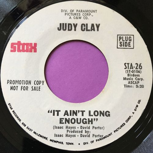 Judy Clay-It ain't long enough-Stax WD E+