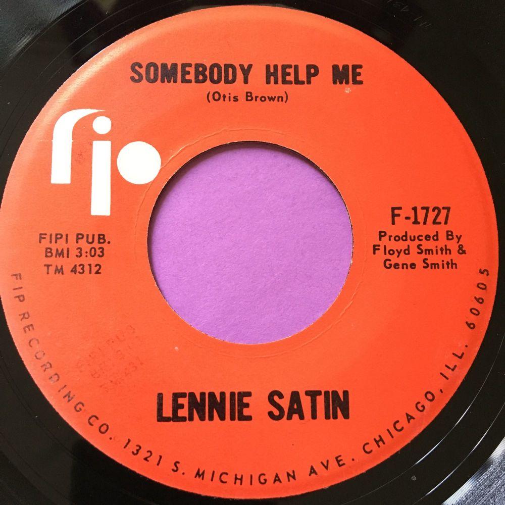 Lennie Satin-Somebody help me-FIPI E+