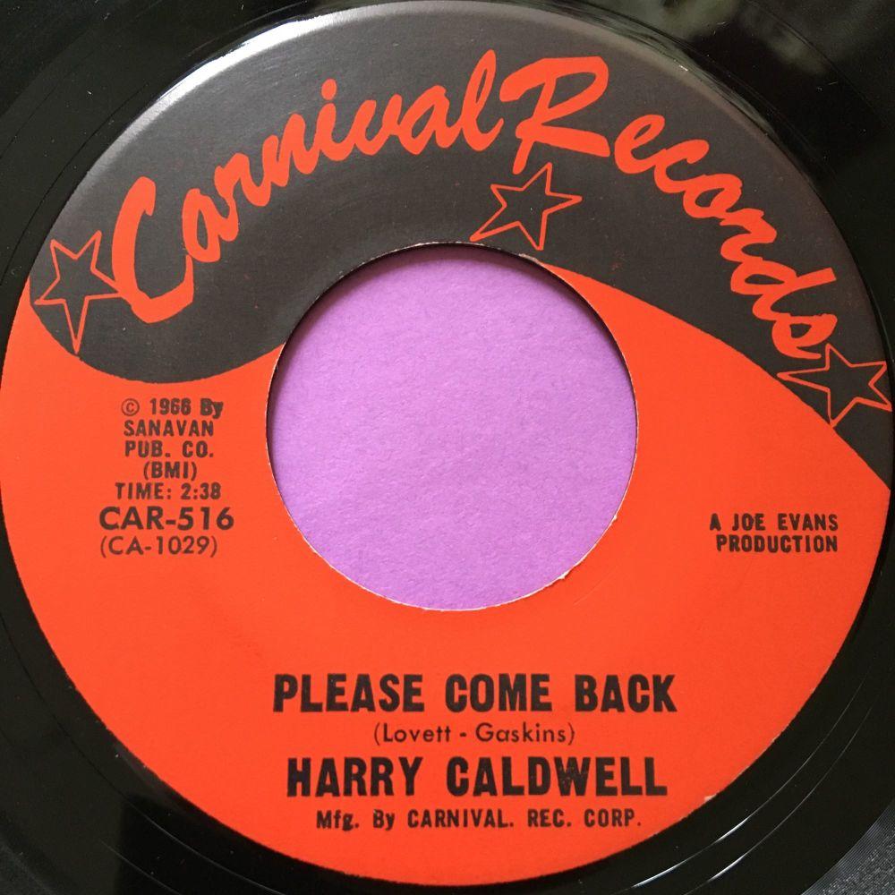 Harry Caldwell-Please come back-Carnival E+