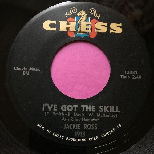 Jackie Ross-I've got the skill-Chess E+