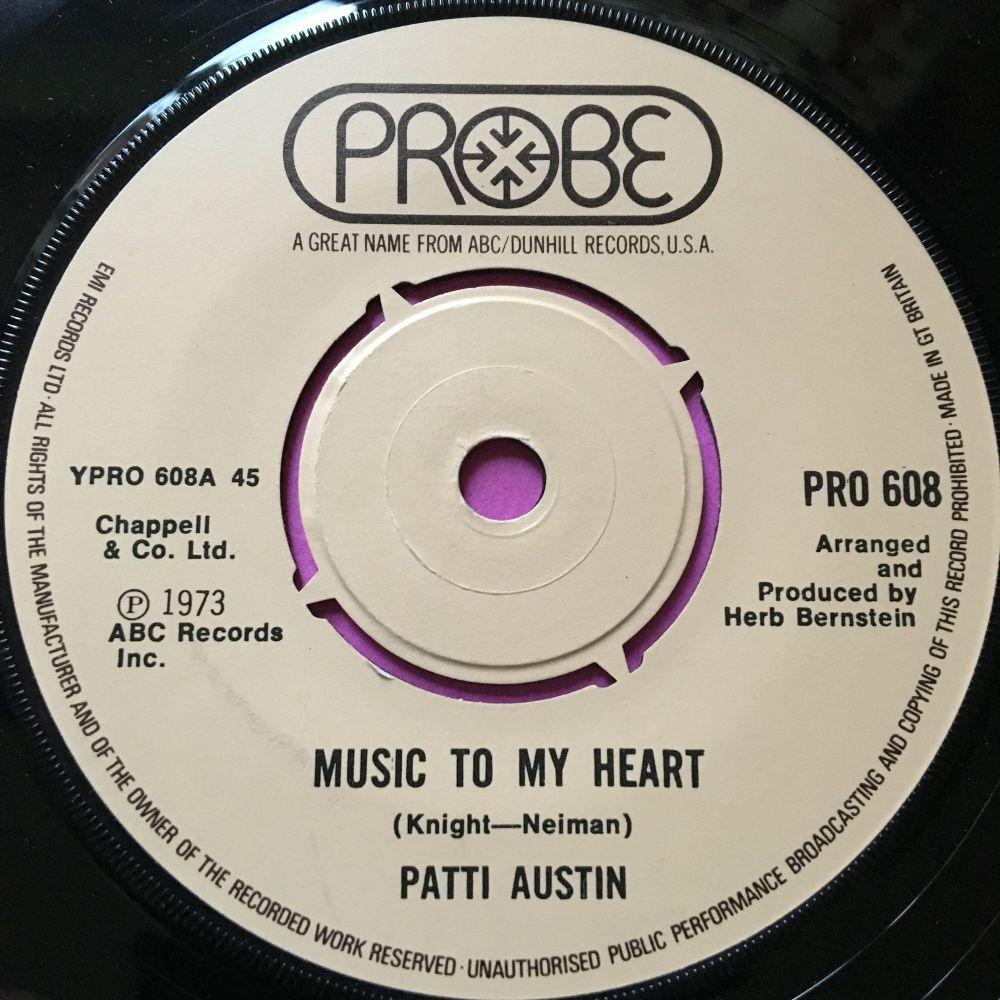 Patti Austin-Music to my heart-UK Probe E+