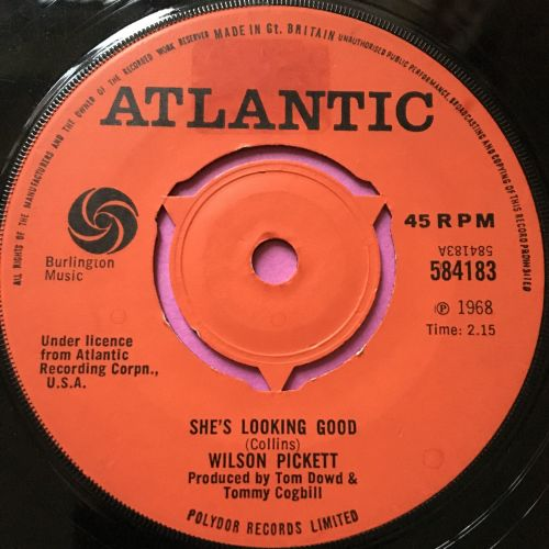 Wilson Pickett-She's looking good-UK Atlantic E