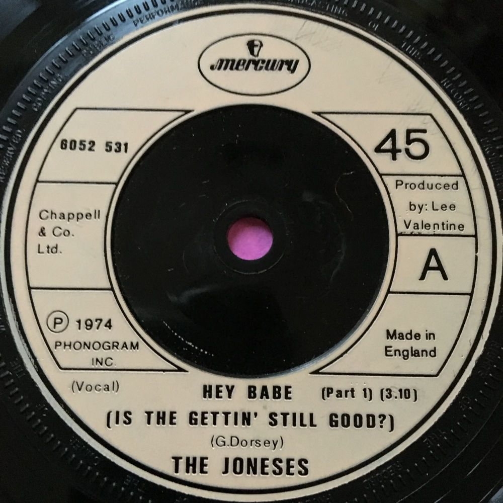 Joneses-Hey babe-UK Mercury E+