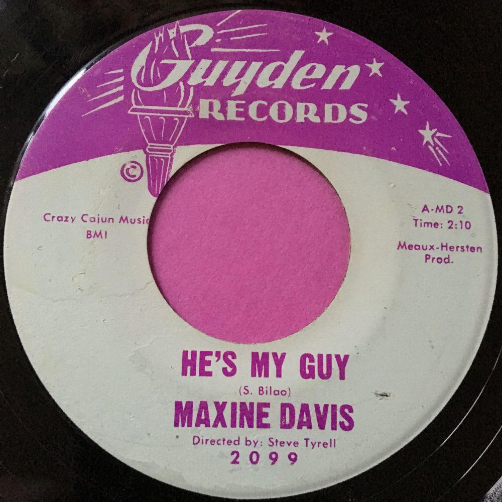 Maxine Davis-He's my guy-Guyden E