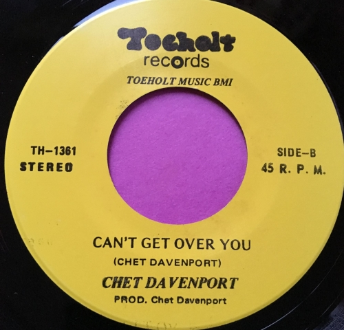 Chet Davenport-Can't get over you-Toeholt E+