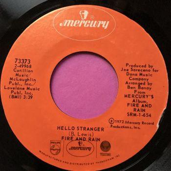 Fire and Rain-Hello stranger-Mercury E+