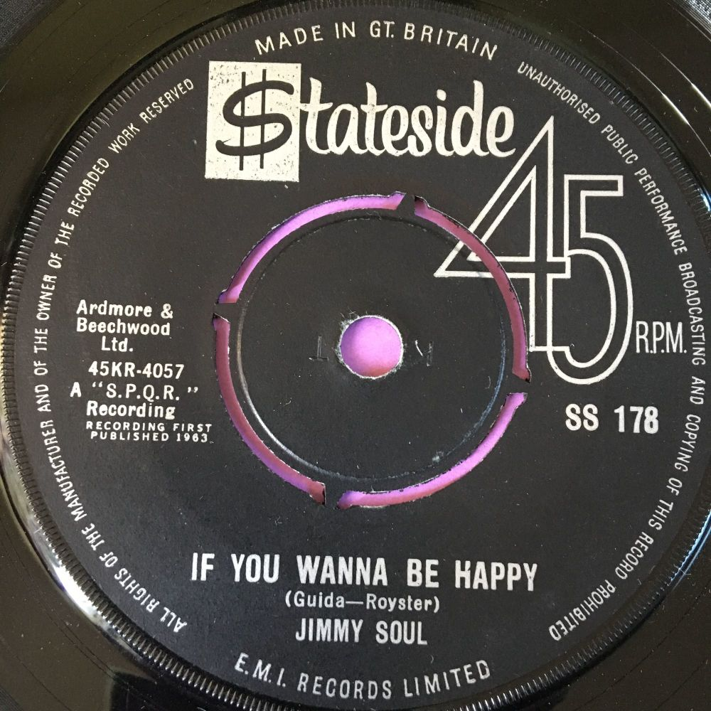 Jimmy Soul-If you wanna be happy-Stateside E+