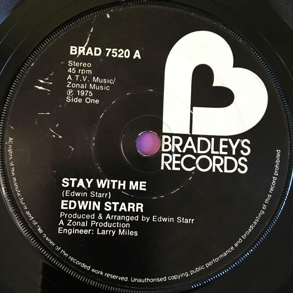 Edwin Starr-Stay with me-UK Bradley's E+