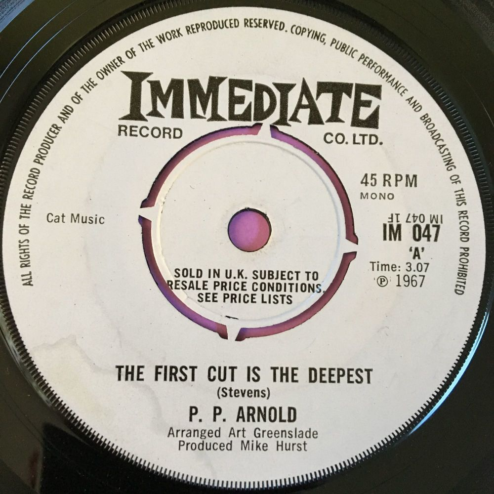 P.P Arnold-The first cut is the deepest-UK Immediate Demo E+