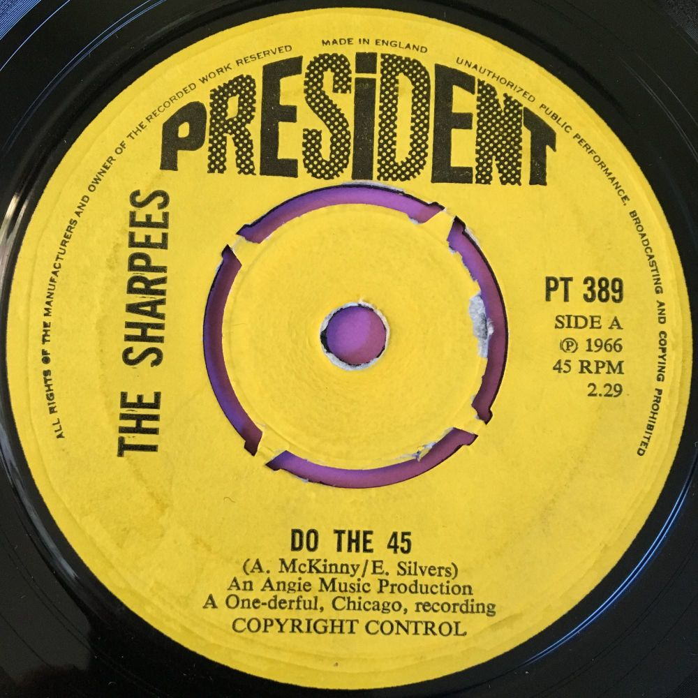 Sharpees-Do the 45-President E