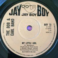 Bob & Earl Band-My little girl-UK Jayboy E+