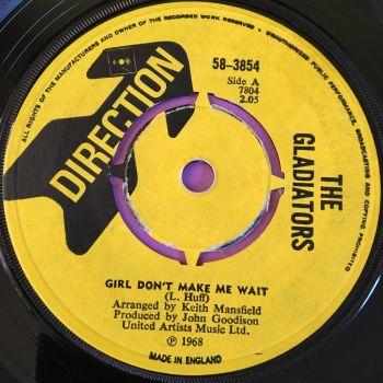 Gladiators-Girl don't make me wait-UK Direction E+