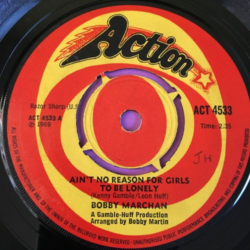 Bobby Marchan-Ain't no reason for girls to be lonely-UK Action E+