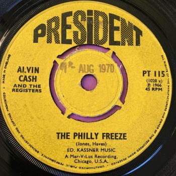 Alvin Cash-The Philly Freeze-UK President E