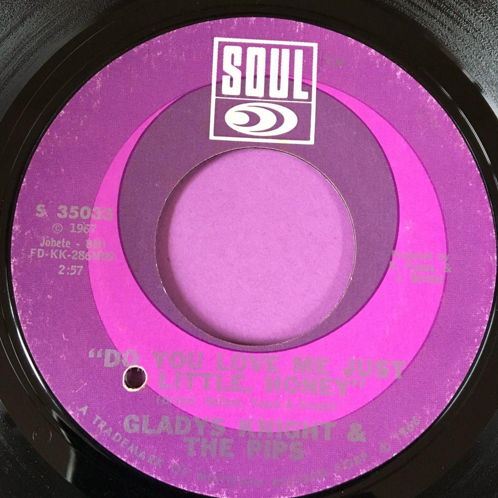 Gladys Knight-Do you love me just a little bit honey-Soul E+