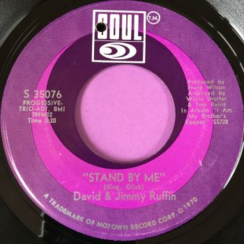 David & Jimmy Ruffin-Stand by me-Soul E+