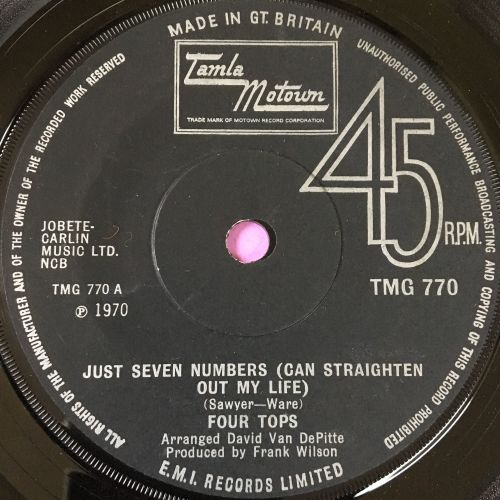 Four Tops-Just seven numbers-TMG 770 E+