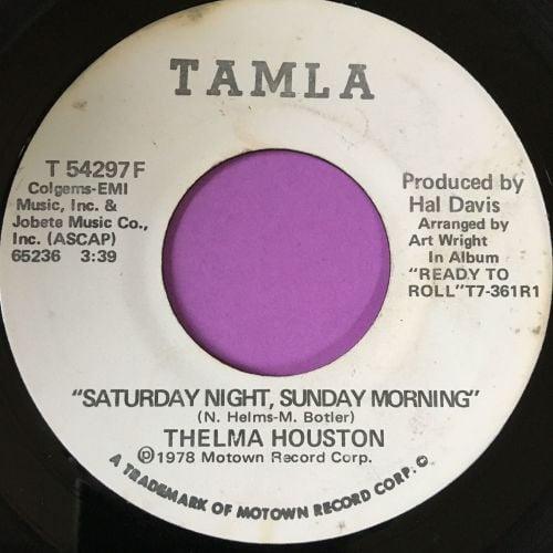 Thelma Houston-Saturday night Sunday morning-Tamla WD E+