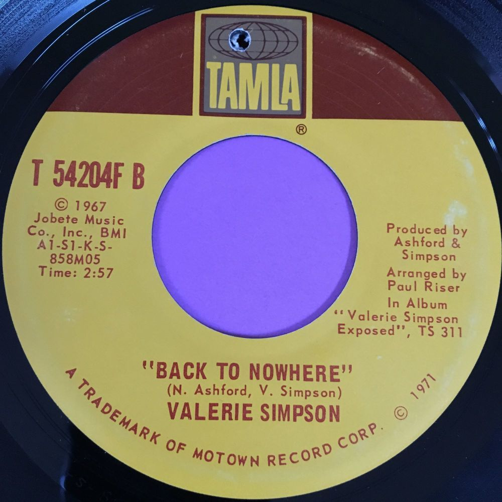 Valerie Simpson-Back to nowhere-Tamla E+