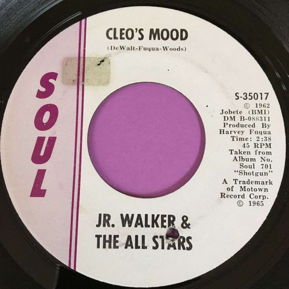 Junior Walker-Cleo's mood-Soul E+