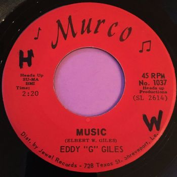 "Eddy ""G"" Giles-Music-Murco wol E+"