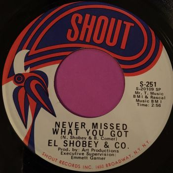 El Shobey & Co-Never missed what you got-Shout E+