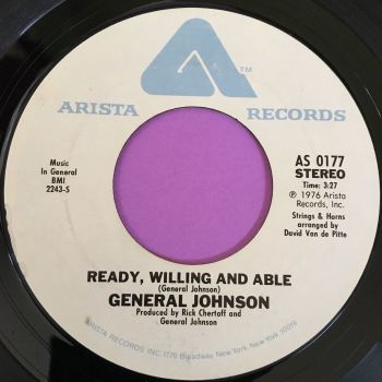 General Johnson-Ready willing and able-Arista WD E+