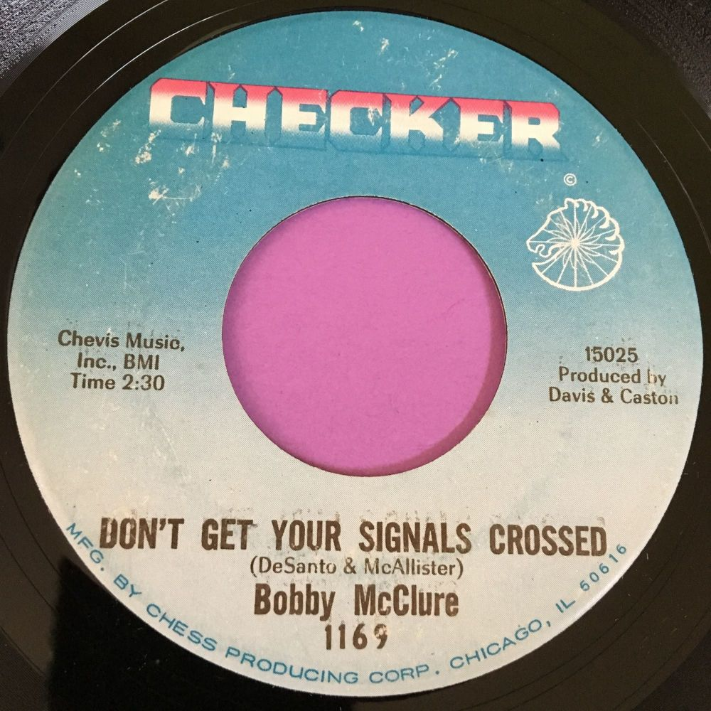 Bobby McClure-Don't get your fingers crossed-Checker E