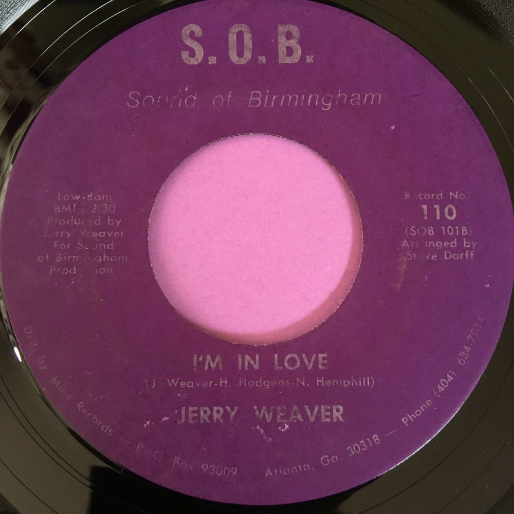 Jerry Weaver-I'm in love-S.O.B E
