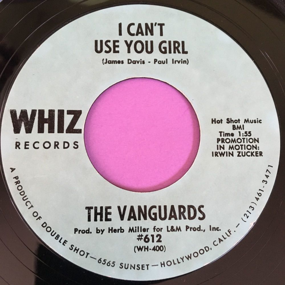 Vanguards-I can't use you girl-Whizz E+
