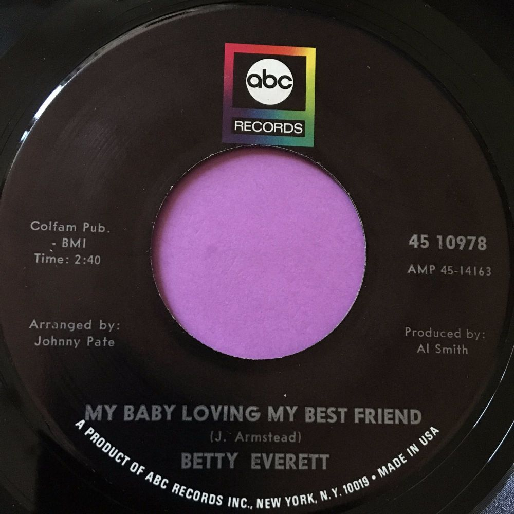 Betty Everett-My baby loving my best friend-ABC E+