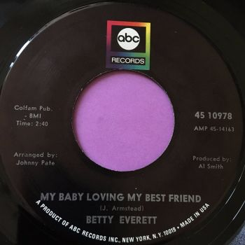 Betty Everett-My baby loving my best friend-ABC E+