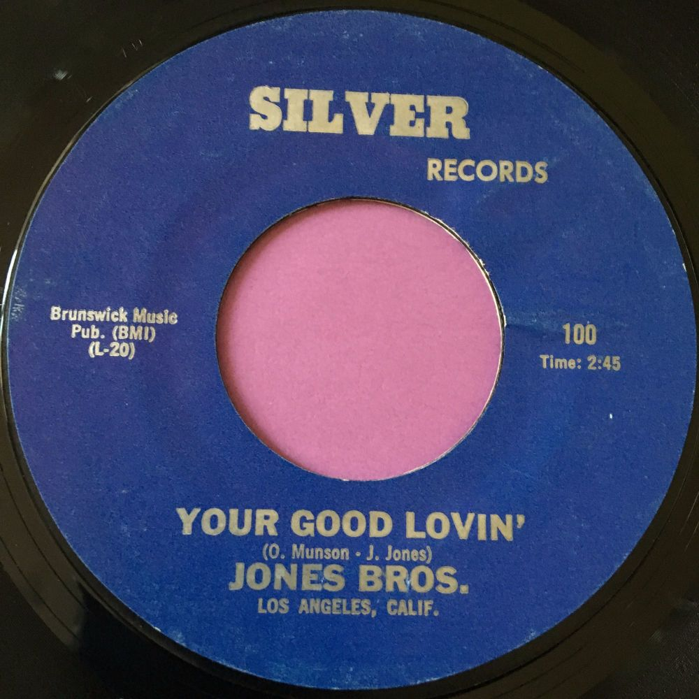 Jones Bros.-Your good lovin'-Silver E+