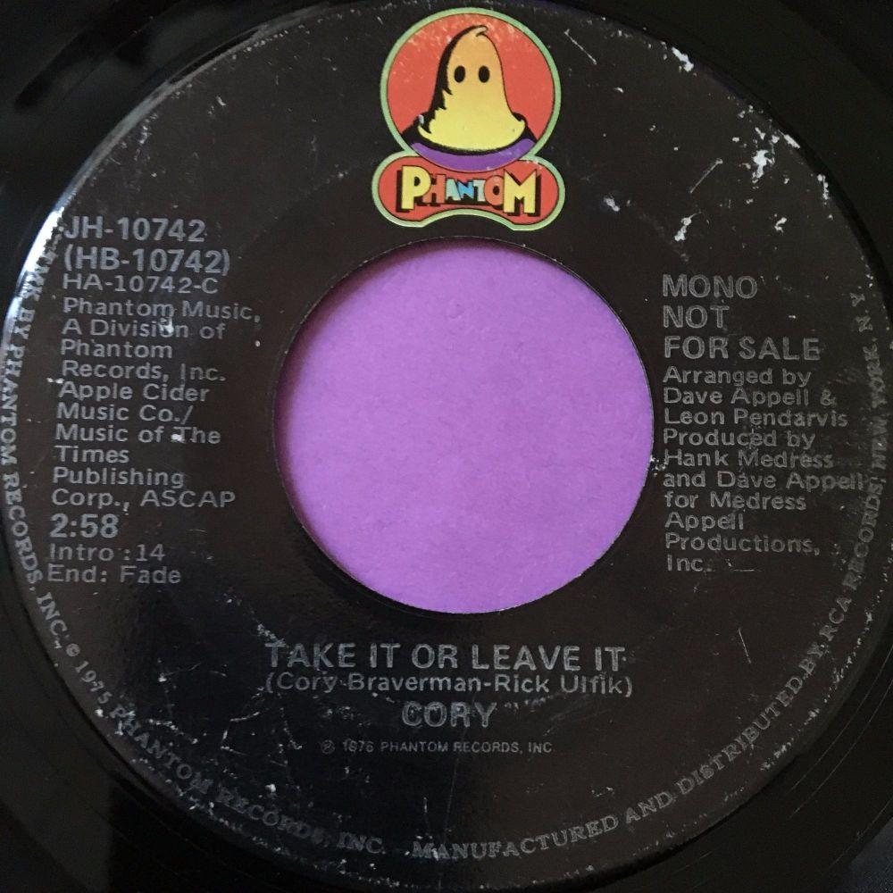 Cory-Take it or leave it-Phantom E
