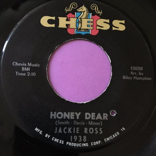 Jackie Ross-Honey dear-Chess E