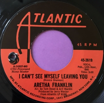 Aretha Franklin-I can't see myself leaving you-Atlantic M-