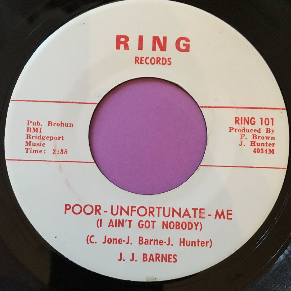 J.J Barnes-Poor unfortunate me-Ring E+