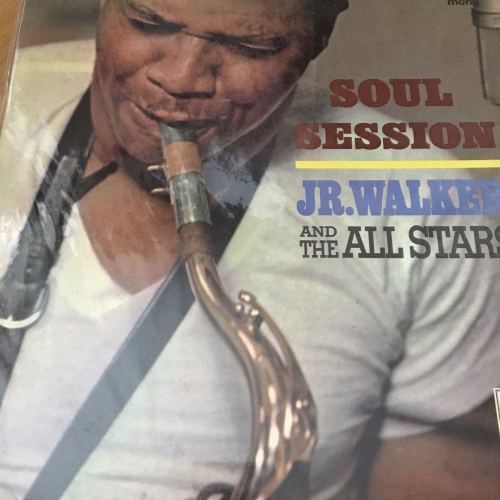 Junior Walker-Soul Session-UK Motown LP E+