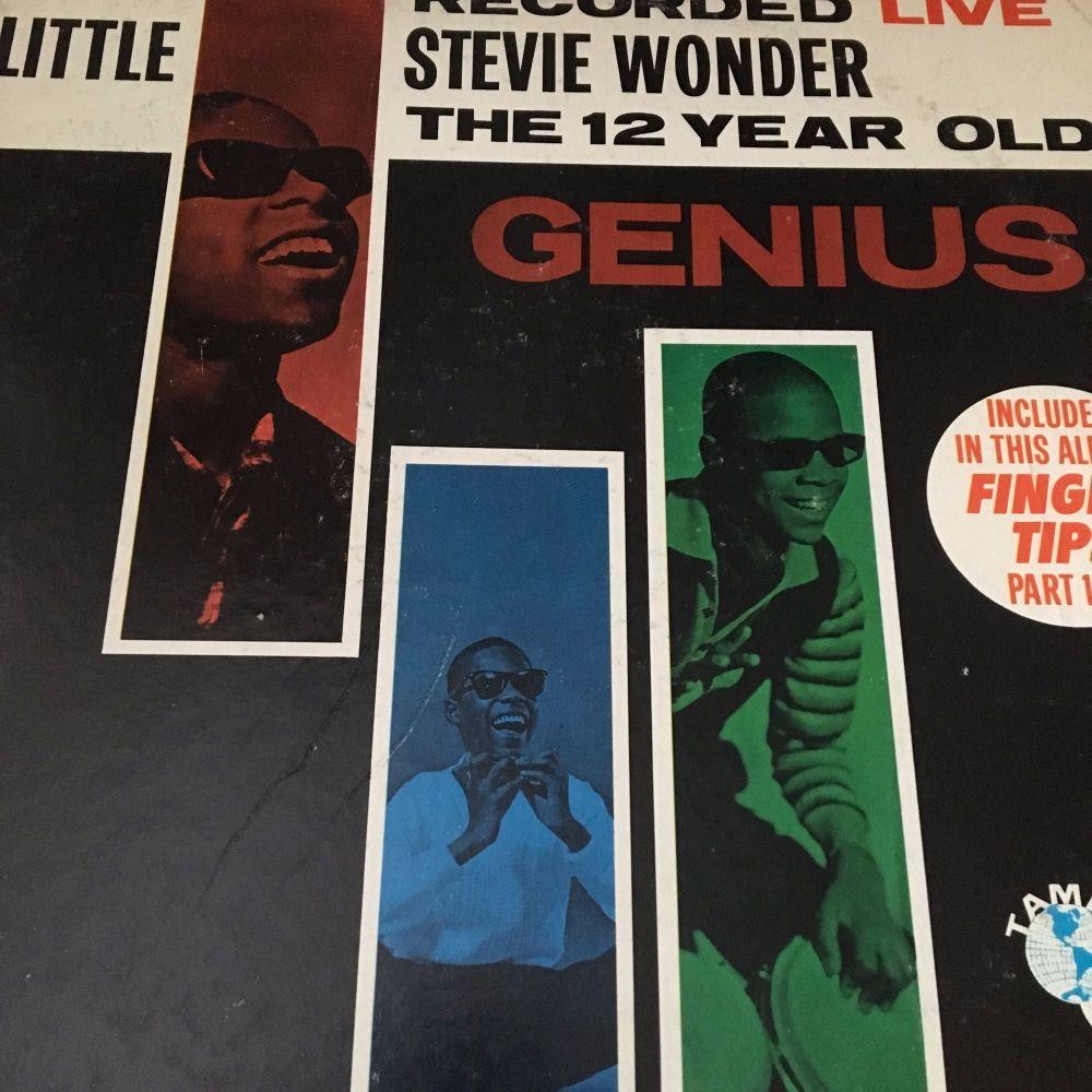 Stevie Wonder-The 12 year old genius-Tamla vg+