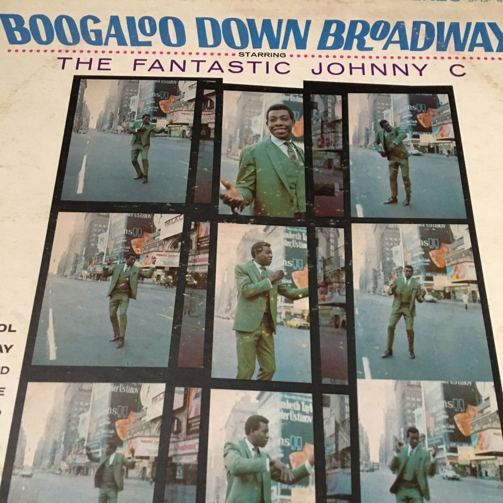 fantastic Johnny C-Boogaloo Down Broadway-Phila LP E