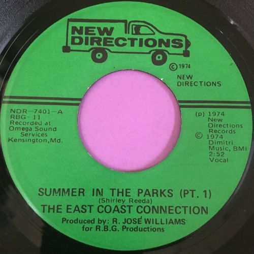 East Coast Connection-Summer in the parks-New Direction E+