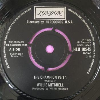 Willie Mitchell-The champion-UK London E+