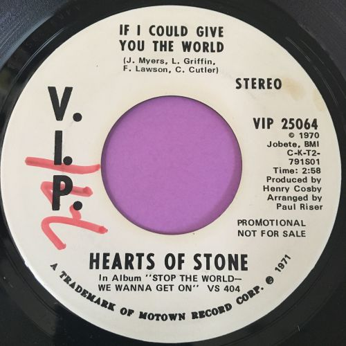 Hearts of stone-If I could give you my world-VIP WD wol E+