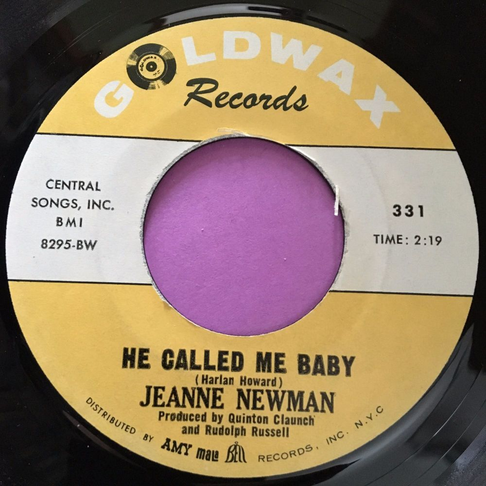 Jeanne Newman-He called me baby-Goldwax E+