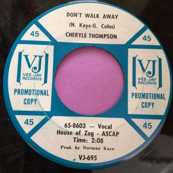 Cheryle Thompson-Don't walk away-VJ demo E+
