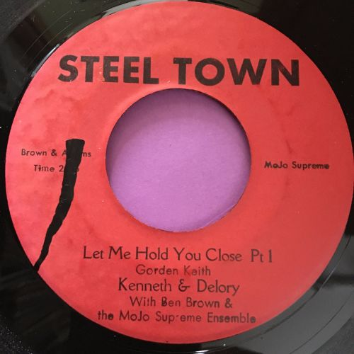 Kenneth & Delroy-Let me hold you close-Steel town E+