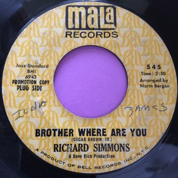 Richard Simmons-Brother where are you-Mala vg+